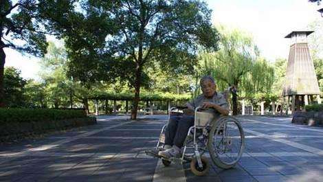 母の介護と車椅子での散歩風景・清澄公園230925kiyosumikouen500.jpg