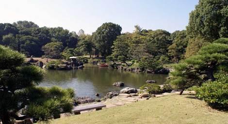 母の介護と車椅子での散歩風景・清澄庭園kiyosumi03.jpg