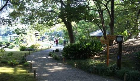 母の介護と車椅子での散歩風景・清澄庭園kiyosumi10.jpg