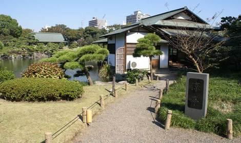 母の介護と車椅子での散歩風景・清澄庭園kiyosumi12.jpg