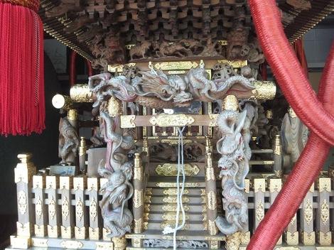 母の介護と車椅子での散歩風景・深川神明宮240827-3.JPG