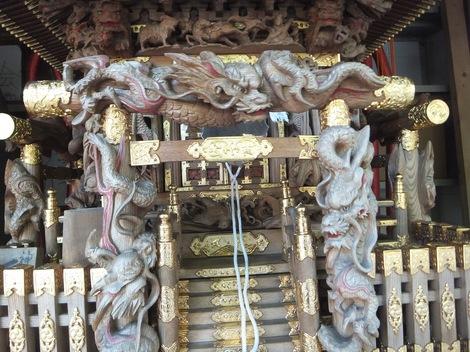 母の介護と車椅子での散歩風景・深川神明宮240827-5.JPG