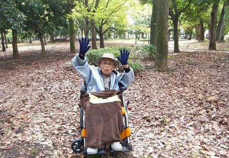 251025kiyosumi-1.JPG母の介護と車椅子での散歩風景・清澄公園1