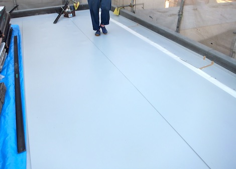 250920-14.我が家の屋上防水シート工事を写真で公開しています。