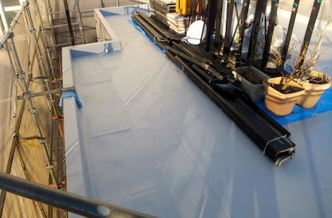 250920-17.我が家の屋上防水シート工事を写真で公開しています。