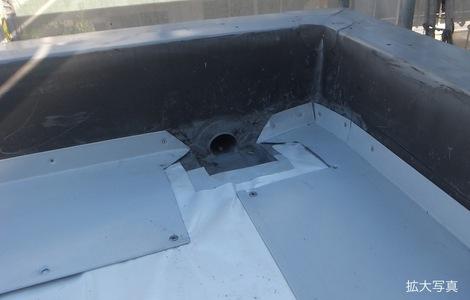 250920-18.我が家の屋上防水シート工事を写真で公開しています。