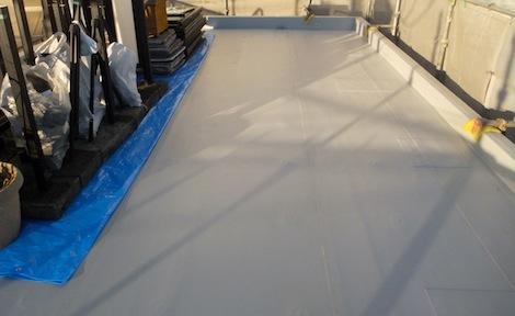 250920-22.我が家の屋上防水シート工事を写真で公開しています。