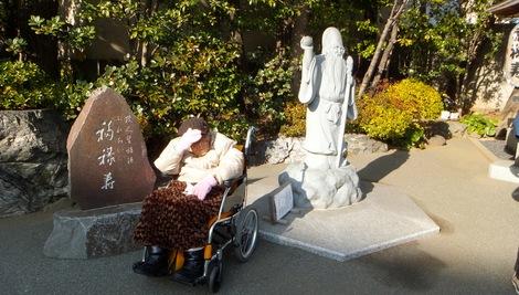 260104hukurokujyu-8.JPG深川七福神・福禄寿・母の介護と車椅子での散歩風景