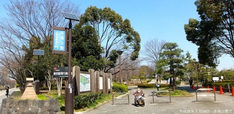 260324hiba-1.JPG母の介護と車椅子での散歩風景1