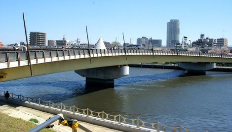260331sakura-4.JPG・母の介護と車椅子での散歩風景・隅田川の桜橋
