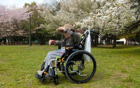 260409kiyosumi.JPG福祉用具の車椅子